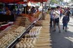 Chatuchak Market Bangkok Food Stand