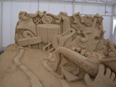 Musical Instruments - World Sand Sculpture Festival Thailand