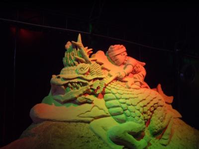 Dragon - World Sand Sculpture Festival Thailand