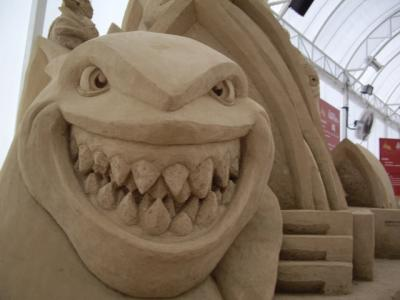 Big Dragon - World Sand Sculpture Festival Thailand