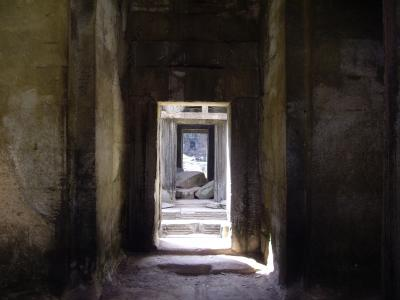 Angkor Wat Corridors in Time